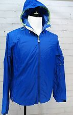 GAP Lightweight Waterproof Rain Jacket Hood Mens M - Spring/Fall Blue 100% Nylon