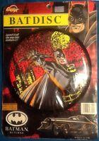 Batman Returns Batdisc Frisbee MINT Spectra Star 1991 Michael Keaton image