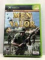 Men of Valor (Microsoft Xbox, 2004) Complete Tested Working - Free Ship