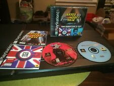 Grand Theft Auto: Director's Cut Gta PlayStation 1 Ps1 Black Label Complete