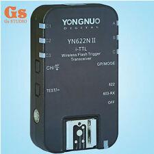 1pcs Yongnuo YN-622N II TTL Wireless Flash Trigger Slave f Nikon D800 D700 D600