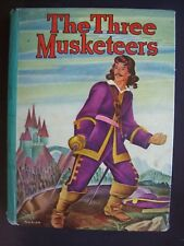 THE THREE MUSKETEERS (1946, Whitman) Retelling of Dumas - Cover by Florian