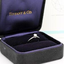 Tiffany & Co. Verlobungsring Platin 950-Gr.49 - Box & Zertifikat 0,29 ct - VVS2
