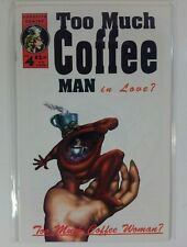"""Too Much Coffee Man"" #4 (1st PRINT, 1995) Adhesive - FN+"