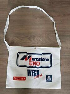 Santini Mercatone UNO Wega Home Bicycle Musette cycling bag food bag Retro