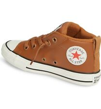 Converse All Star  Boys' kids'  Chuck Taylor Street Leather  Sneakers Shoes  4