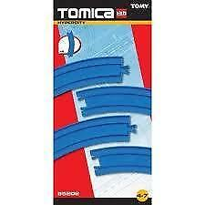 NEW Thomas the Tank Engine Blue Tomy Tomica Curved Rail Track Pack Trackmaster