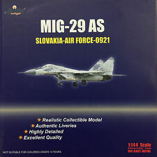 Witty Wings - 1/144 MIG-29 AS Slovakia Air Force 0921 Diecast Plane