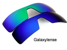 Galaxy Replacement Lenses For Oakley Oil Rig Blue&Green Polarized 2Pair