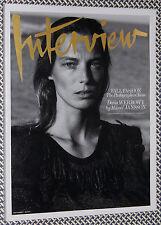2014 INTERVIEW Magazine, FALL FASHION PHOTOGRAPHERS' ISSUE, STEVEN KLEIN, McDean
