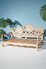 Handcarved Lotus Daybed