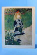National Gallery of Art Reproduction Renoir, Girl With a Watering Can 14 x 11 in