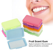 50 Packs Fruit Scent Dental Orthodontics Ortho Wax For Braces Gum Irritation US