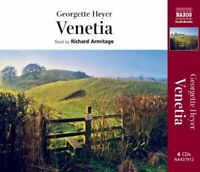 Venetia by Georgette Heyer CD-Audio Book The Fast Free Shipping