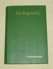 Die Dogmatik der evangelisch-lutherischen Kirche - Heinrich Schmid -- 1893