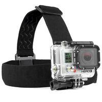 GoPro Adjustable Elastic Head Strap Mount Belt Harness Session HERO 4/3+/3/2/1