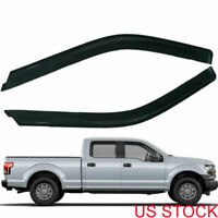 Rain Guard Vent Window Visors  Shade For Ford F-150 Standard Cab 2015 2016 2017