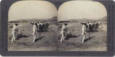 Grèce Greece Travaux Agricoles Photo Stereo Vintage Argentique