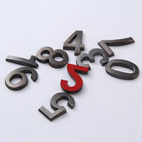 Hotel Apartment House Numbers 0-9 Self-Adhesive Digits Sticker Door Plate Sign