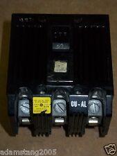 GE TQL32050 TQL 50 amp 3 pole circuit breaker