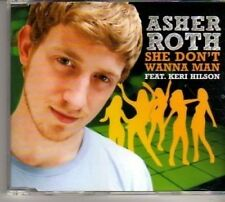 (BT81) Asher Roth, She Don't Wanna Man ft Keri Hilson - DJ CD