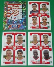 PANINI FOOTBALL FOOT 2005 STADE BRESTOIS 29 Le Blé COMPLET FRANCE 2004-2005