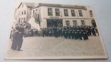 Weilburg Fair Post War Germany War Veterans & Band in Front of Franz NIckel Toys