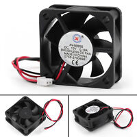 1x DC Brushless Cooling PC Computer Ventilateur 12V 0.18A 5020s 50x50x20mm 2 Pin