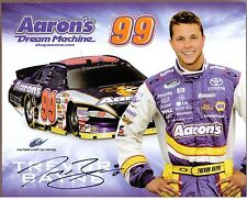 "Trevor Bayne, NASCAR Driver, Signed 11"" x 8 1/2"" Color Photo, COA"