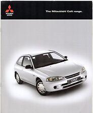 Mitsubishi Colt 2001-03 UK Market Sales Brochure 1.3 1.6 Classic Equippe