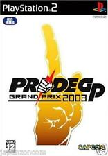 Used PS2 Capcom PRIDE GP 2003 SONY PLAYSTATION JAPAN IMPORT
