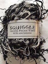 Crystal Palace Yarns Squiggle #9418 Black & White (+Grey) - Great CarryAlong!