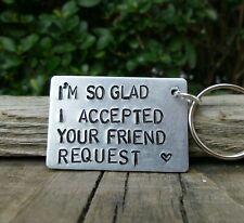 Funny Keyring Gifts For Him Boyfriend Girlfriend Facebook Valentines Day Love