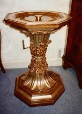 Exquisite IT. RENAISSANCE hand-carved Gilt-Wood SALONE / CENTER HALL TABLE BASE
