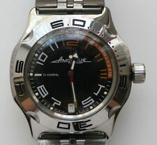 RUSSIAN VOSTOK WATCH AMPHIBIA AUTOMATIC USSR MILITARY DIVER 200 m 2416/100474