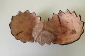 Coconut Shell Art Home Decorative Bowls 100% Natural Homemade Eco Friendly