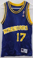 Champion Golden State Warriors Chris Mullen Jersey #17 Mens NBA Size 36 Small S
