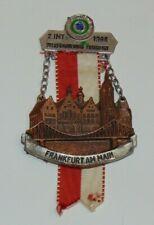 1980 VOLKSWANDERUNG FRANKFURT 2.INT AM MAIN Hiking Medal
