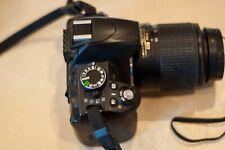 Nikon D D3100 14.2MP Digital SLR Camera - Black with AF-S 55-200mm 1:4-5.6 g ED