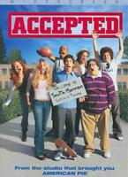 ACCEPTED NEW DVD