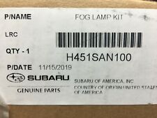 2020 Subaru OUTBACK Fog Light Kit w/ Lamps Bezels & Switch H451SAN100 OEM new