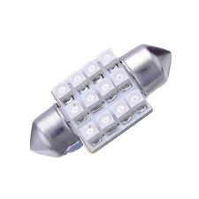 2X Blu 31 millimetri 12 SMD LED auto interiore festone cupola C5W Numero la P7I1