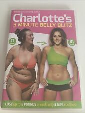 *Fitness Workout DVD * CHARLOTTE CROSBY'S 3 MINUTE BELLY BLITZ