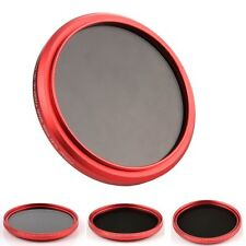 Red Ring Slim FOTGA 67mm Fader Variable Neutral Density ND Filter ND2 to ND400