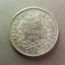 FRANCE  - 5 Francs - 1873 A - Argent - TTB+
