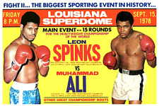 16mm Feature Film: LEON SPINKS vs MUHAMMAD ALI 2 (1978) 15 Round Boxing Match
