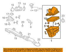 MAZDA OEM 10-13 3 Air Cleaner Intake-Filter Box Housing LF8J13320A
