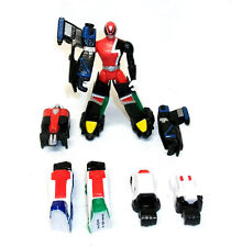 "Power Rangers SPD  Red Ranger 3.75""  Megazord robot figure with Clip on Armour"