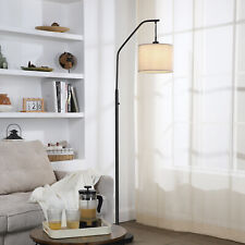 DEWENWILS Modern ARC Floor Lamps for living room with 10W LED Dimmable Bulb