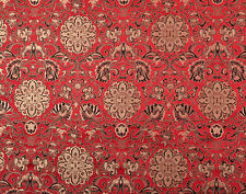 "BY1/2 YD X 28"" TIBET SILK DAMASK JACQUARD BROCADE FABRIC : DAKINI FAIRY & LOTUS"